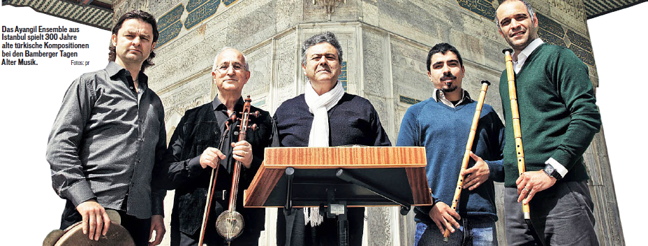 ALİ UFKÎ – KANTEMİROGLU – ITRΠWill be performed in INTERNATIONAL BAMBERG MUSIC FESTIVAL by AYANGİL ENSEMBLE on Donnerstag, 7. Juni 2012, 20.00 Uhr (7 June Thursday 2012, 20.00 o'clock) Program...